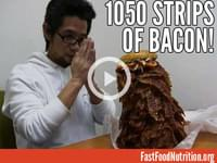 Man Orders Burger With 1,050 Strips Of Bacon