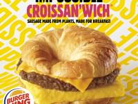 Burger King to Test Impossible Sausage Croissan'wich