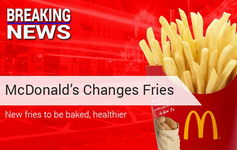 McDonald's To Make French Fries Healthier